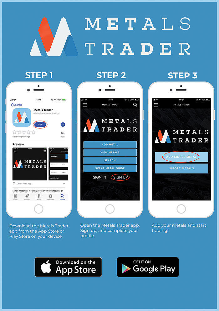 Metals Trader App launched |
