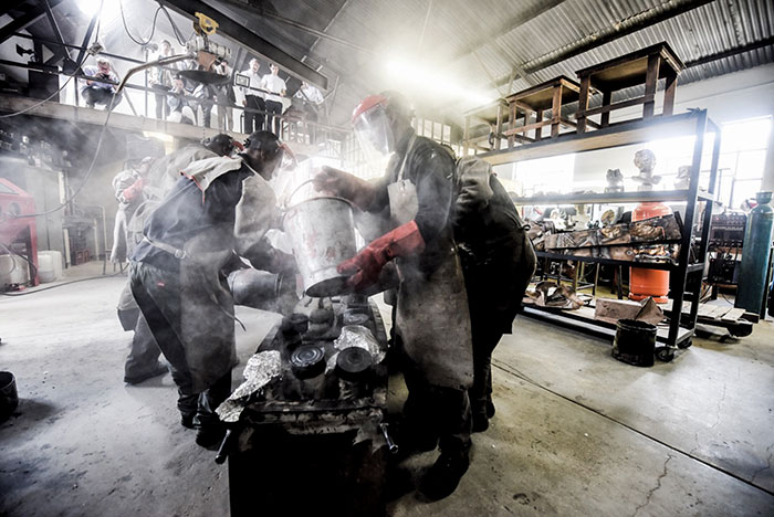 Workhorse Bronze Foundry – Creating a space for artisans and artists |